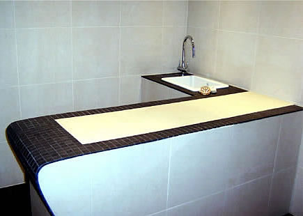 roman bath table