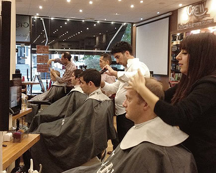 barbering shaving mens salon