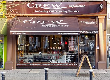 crew experience fulham salon exterior