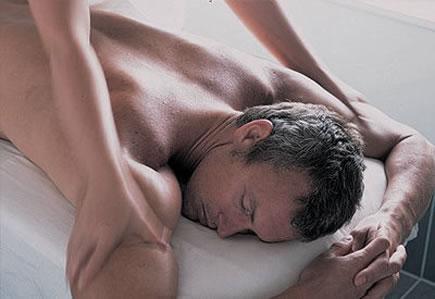 de stressing deep tissue massage